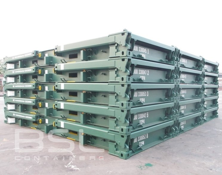 20 Collapsible Flatrack Containers For Sale Open Construction