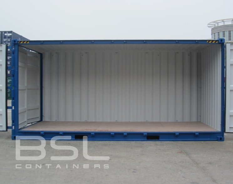 20 High Cube Open Side Shipping Containers For Sale