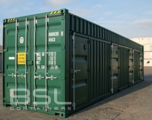 40ft-high-cube-container-4-man-doors-RAL-6028-01