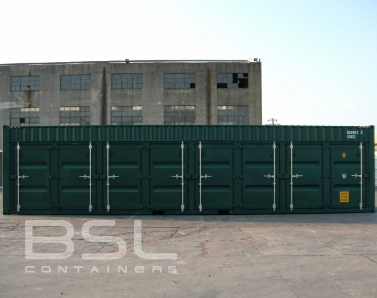 40 High Cube Shipping Containers For Sale 8 Man Doors