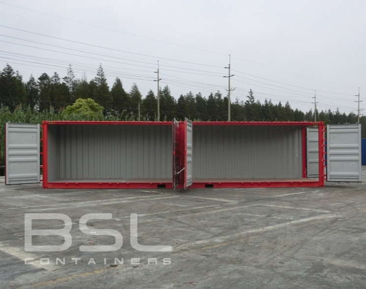40 High Cube Open Side Containers For Sale Full Side Access