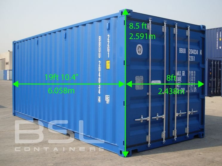 container technical specifications bsl containers. Black Bedroom Furniture Sets. Home Design Ideas
