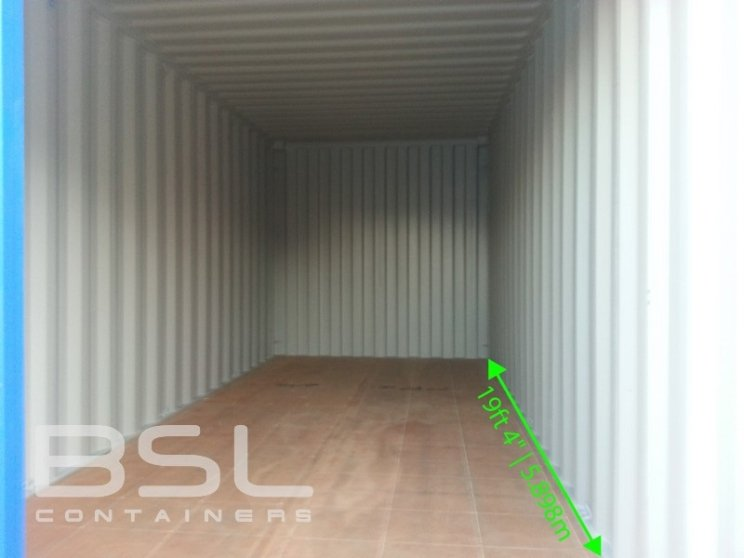 Interior Dimensions Of A Standard 20 Foot Shipping