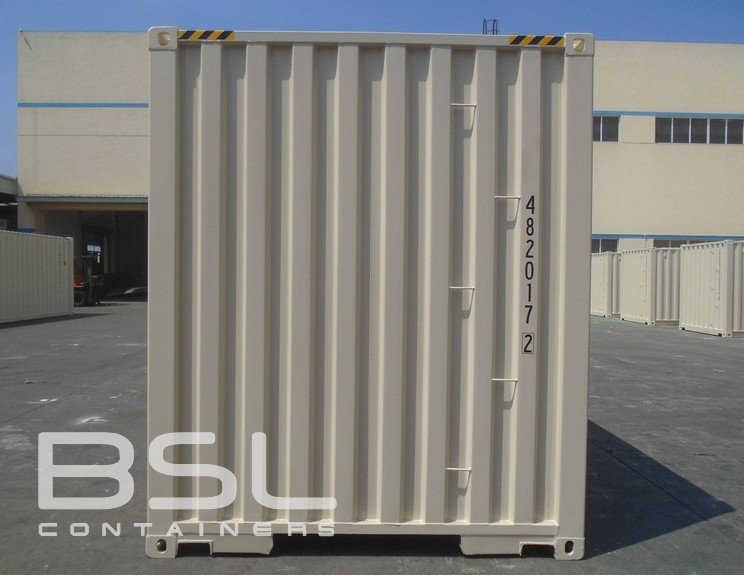 40' High Cube Shipping Containers For Sale - 2 Man Doors