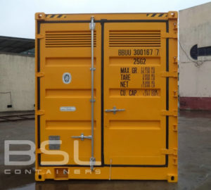 ISO Container for Shipping Hazardous Materials