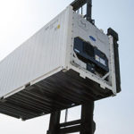 lifting cargo container