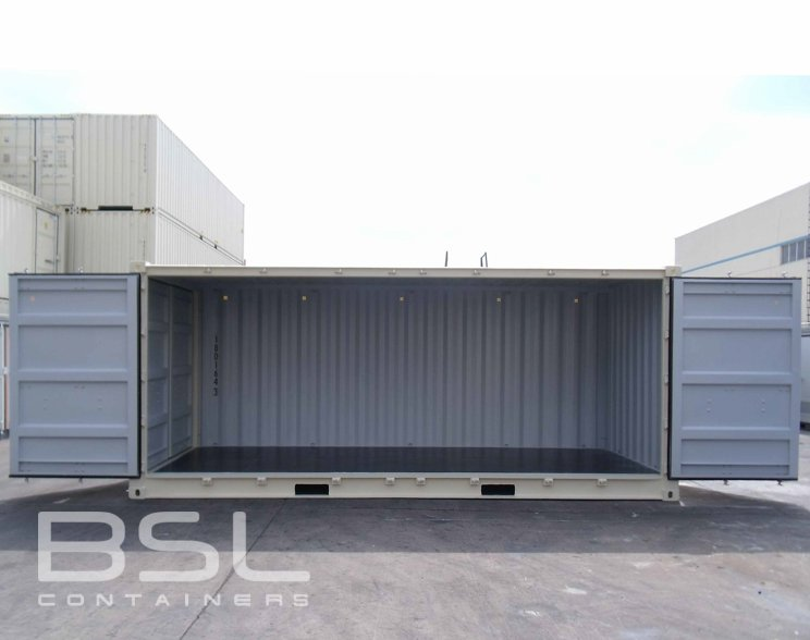 20 Open Side Shipping Containers For Sale Full Side Access