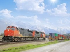 Container Transportation: Containers & Trains