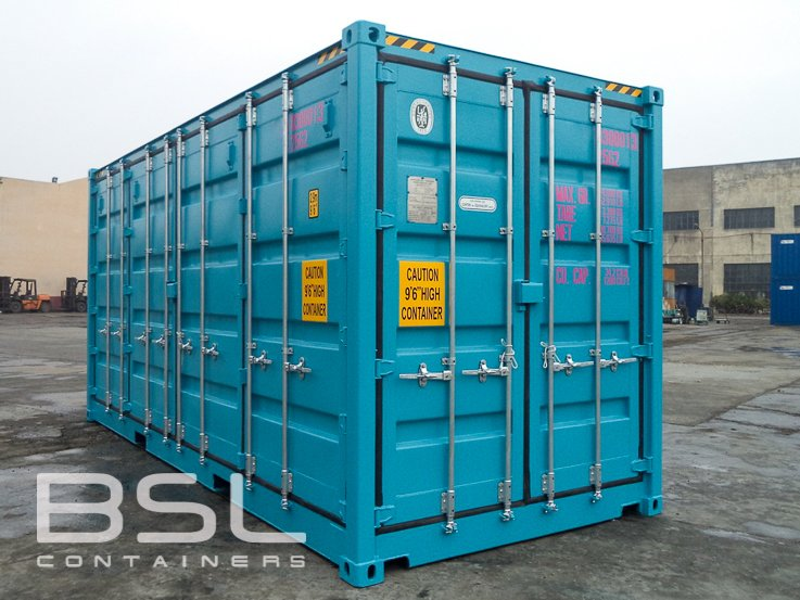 40ft-double-door-container-01-doors-open & Shipping Containers For Sale