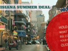 Louisiana summer deal !!