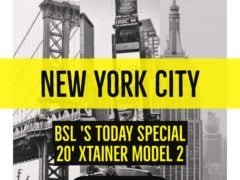 New York Xtainer model 2 on sale now!