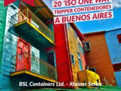 20ft ISO One Way Container are available in Buenos Aires now