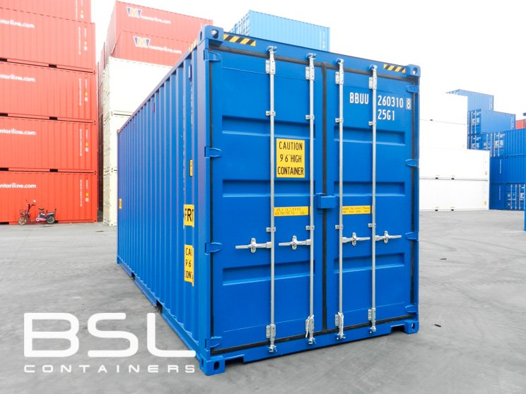 20 High Cube Double Door Shipping Containers For Sale